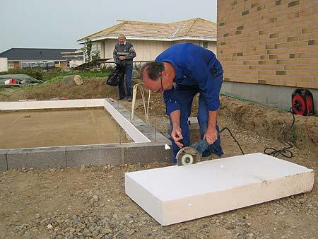 Isolering under gulv – Køkken overskabe